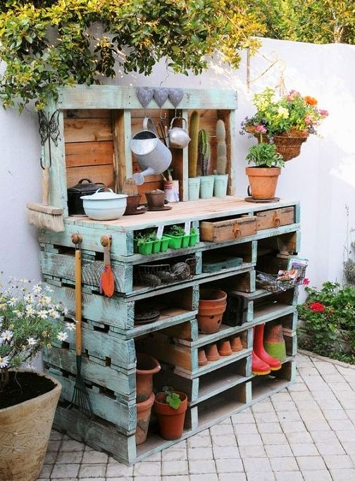 Garden Work Area