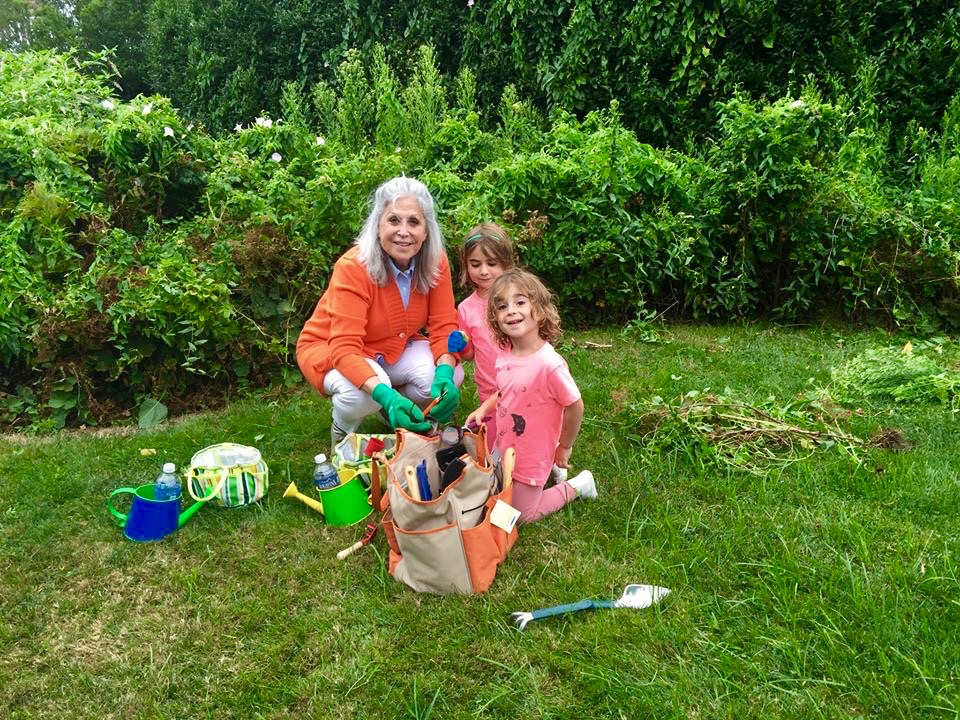 Gardening with Grandaughters