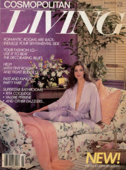 Cosmopolitan Living Cover